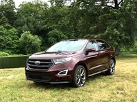 2017 Ford Edge Sport Front, exterior, gallery_worthy