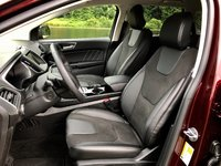 2017 Ford Edge Sport Front Seats, interior