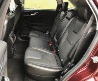 2017 Ford Edge Sport Rear Seats, interior