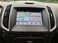 2017 Ford Edge Sport Infotainment, interior