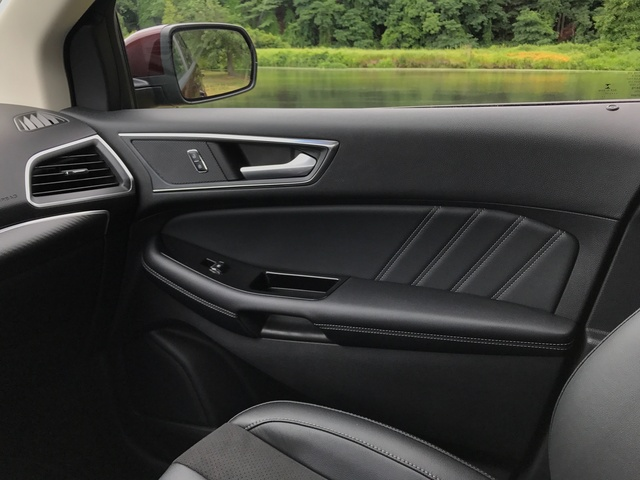 2017 Ford Edge Sport AWD, 2017 Ford Edge Sport Door Detail, interior