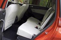 Rear seat area of the 2018 Volkswagen Tiguan, interior, gallery_worthy