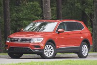 Front 3/4 of the 2018 Volkswagen Tiguan, exterior, gallery_worthy