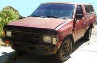 1986 Nissan Truck STD 4WD Standard Cab SB, nissan d21 hardbody truck exterior front camper top jfritz garage 2215, exterior, gallery_worthy