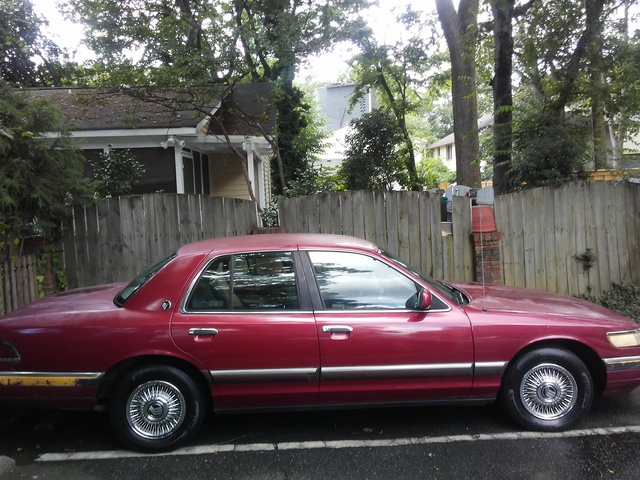 Picture of 1994 Mercury Grand Marquis 4 Dr GS Sedan