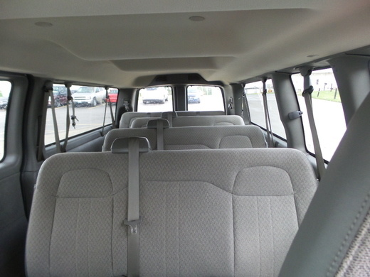 Picture of 2016 Chevrolet Express 3500 1LT Extended RWD, interior, gallery_worthy