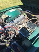 Picture of 1972 Triumph TR6, engine