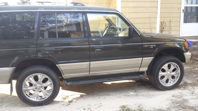 Picture of 1997 Mitsubishi Montero LS 4WD, exterior, gallery_worthy