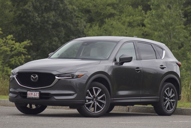 Exterior of the 2017 Mazda CX-5