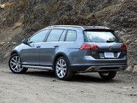 2017 Volkswagen Golf Alltrack SEL 4Motion AWD, 2017 Volkswagen Golf Alltrack SEL in Platinum Gray, exterior, gallery_worthy
