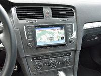 2017 Volkswagen Golf Alltrack SEL 4Motion AWD, 2017 Volkswagen Golf Alltrack SEL navigation map display, interior, gallery_worthy