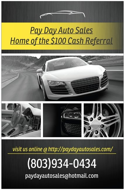 Pay Day Auto Sales Sumter Sc Read Consumer Reviews