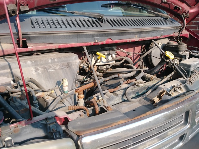 Picture of 1997 Dodge Ram Van 3 Dr 2500 Maxi Cargo Van Extended, engine, gallery_worthy