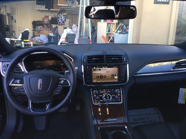 2017 Lincoln Continental Interior Pictures Cargurus