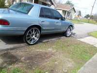 Picture of 1997 Mercury Grand Marquis 4 Dr LS Sedan, exterior, gallery_worthy