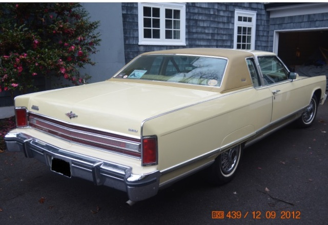 Picture of 1976 Lincoln Continental