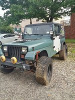 Picture of 1993 Jeep Wrangler 4WD, exterior