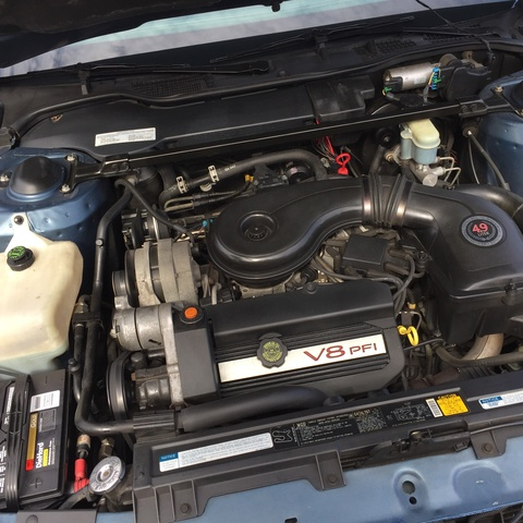 Picture of 1991 Cadillac DeVille Coupe FWD, engine, gallery_worthy