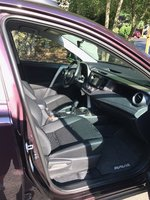 Picture of 2017 Toyota RAV4 LE AWD, interior