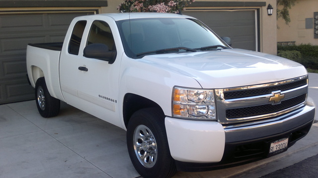 Picture of 2007 Chevrolet Silverado 1500 LT2 Ext. Cab SB, exterior, gallery_worthy