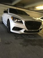 Picture of 2018 Genesis G80 3.3T Sport, exterior