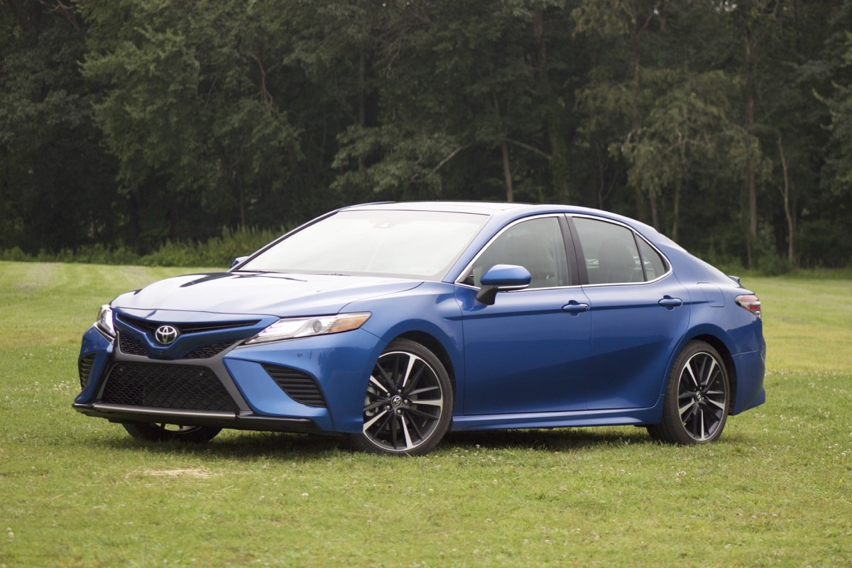 Exterior of the 2018 Toyota Camry