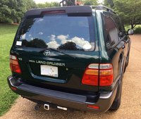 1998 Toyota Land Cruiser Picture Gallery