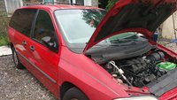 Picture of 2001 Ford Windstar LX, exterior, engine