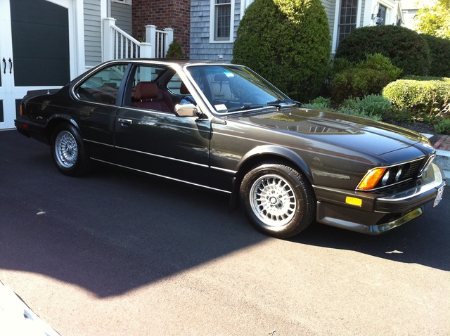 Picture of 1986 BMW 6 Series 635 CSi Coupe RWD