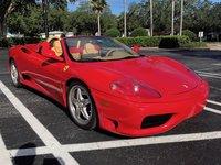 2003 Ferrari 360 Spider Picture Gallery
