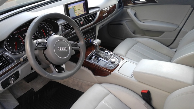 Picture Of 2013 Audi A6 3.0T Quattro Prestige Sedan AWD, Interior,  Gallery_worthy