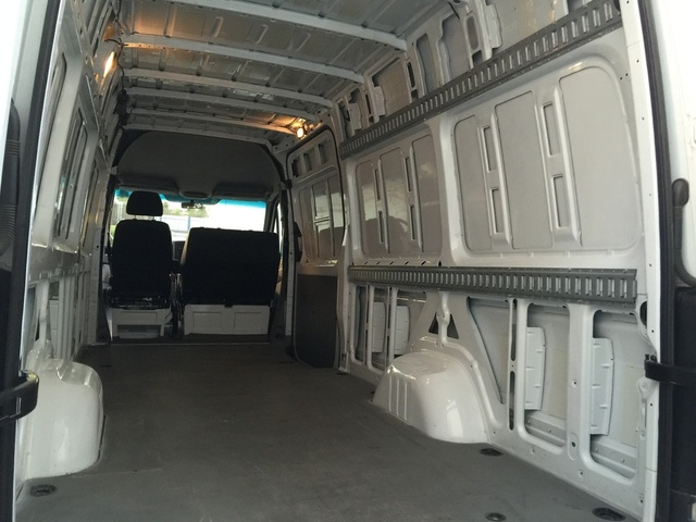 Picture Of 2011 Mercedes Benz Sprinter Cargo 2500 170 WB Van Interior
