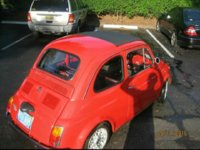 1971 FIAT 500 Picture Gallery