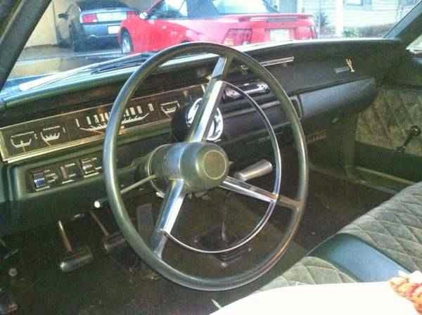 1968 PLYMOUTH HEMI ROAD RUNNER 2 DOOR HARDTOP - 138932   1968 Plymouth Road Runner Interior