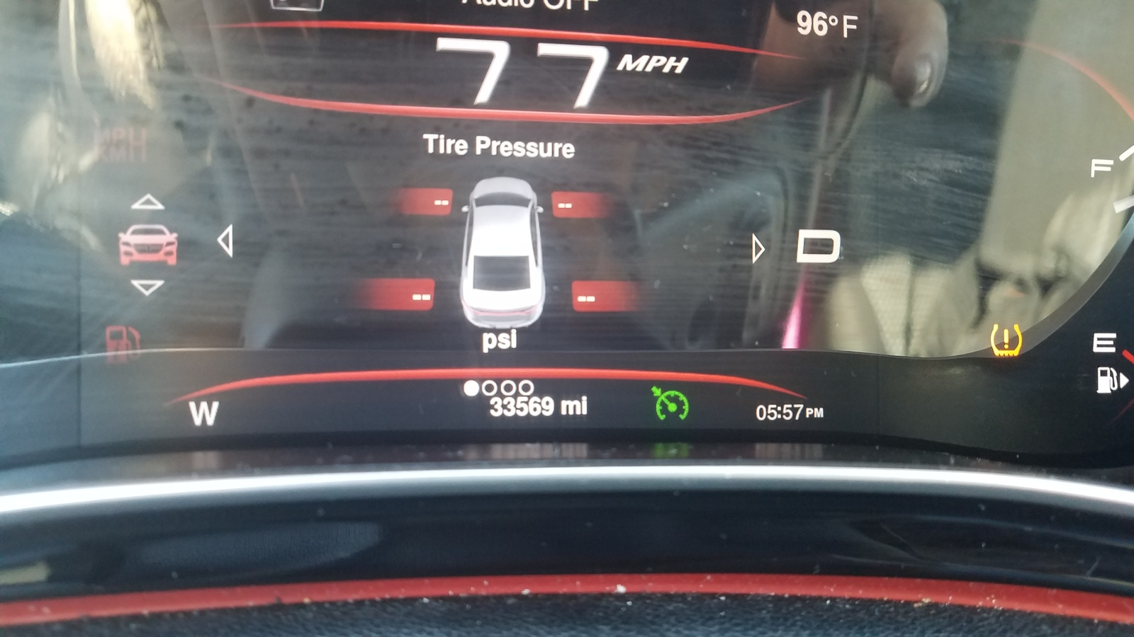 Dodge Dart Questions Light On For Tire Pressure And All 4 Say 0 Psi Cargurus