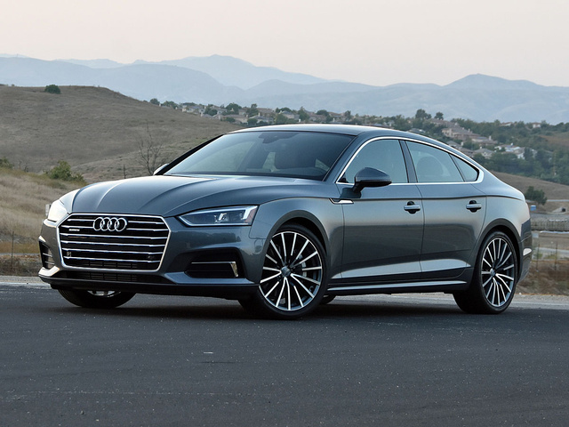 2018 Audi A5 Sportback in Premium Plus trim and Manhattan Gray paint