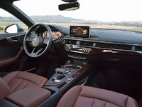 2018 Audi A5 Sportback 2.0T quattro Premium Plus AWD, 2018 Audi A5 Sportback dashboard with Nougat Brown leather interior, interior, gallery_worthy
