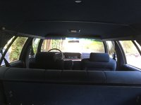 Picture of 1990 Ford LTD Crown Victoria 4 Dr Country Squire LX Wagon, interior