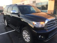 Picture of 2015 Toyota Sequoia Platinum FFV 4WD, exterior, gallery_worthy