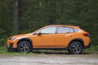 Side of the 2018 Subaru Crosstrek, exterior, gallery_worthy