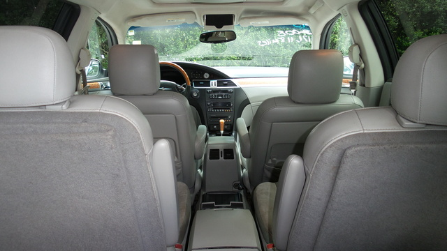 2008 Chrysler Pacifica Interior Pictures Cargurus