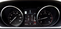 2017 Land Rover Discovery HSE Luxury Td6, 2017 Land Rover Discovery — Gauge cluster and combined fuel economy, interior, gallery_worthy