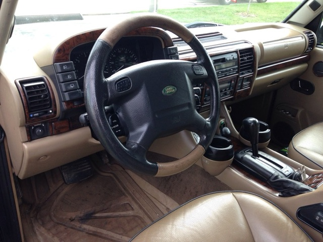 Land Rover Discovery 2002 Interior Images Galleries With A Bite