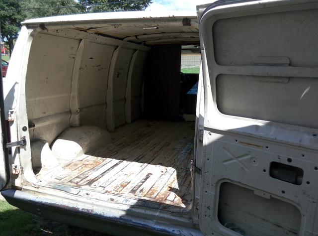 Picture of 1990 Ford E-250 3 Dr STD Econoline Cargo Van, interior, gallery_worthy