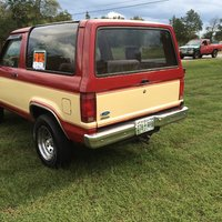 1985 Ford Bronco II Overview