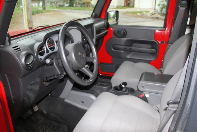 2008 Jeep Wrangler - Interior Pictures - CarGurus