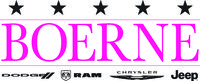 Boerne Dodge Chrysler Jeep Ram logo