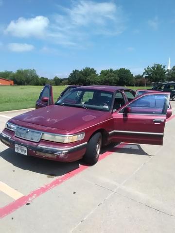 Picture of 1993 Mercury Grand Marquis 4 Dr LS Sedan