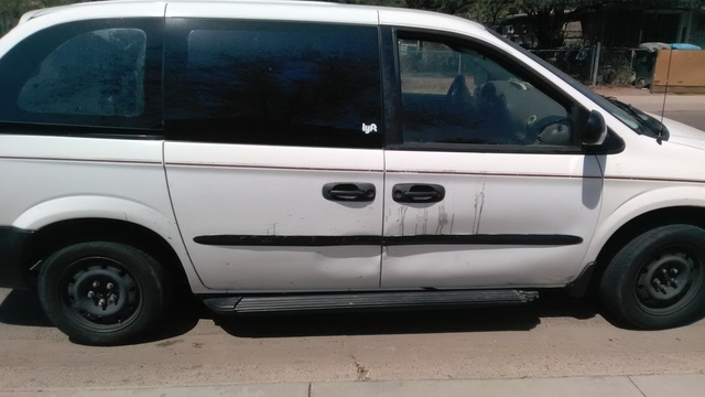 Picture of 2001 Chrysler Voyager 4 Dr STD Passenger Van, exterior, gallery_worthy