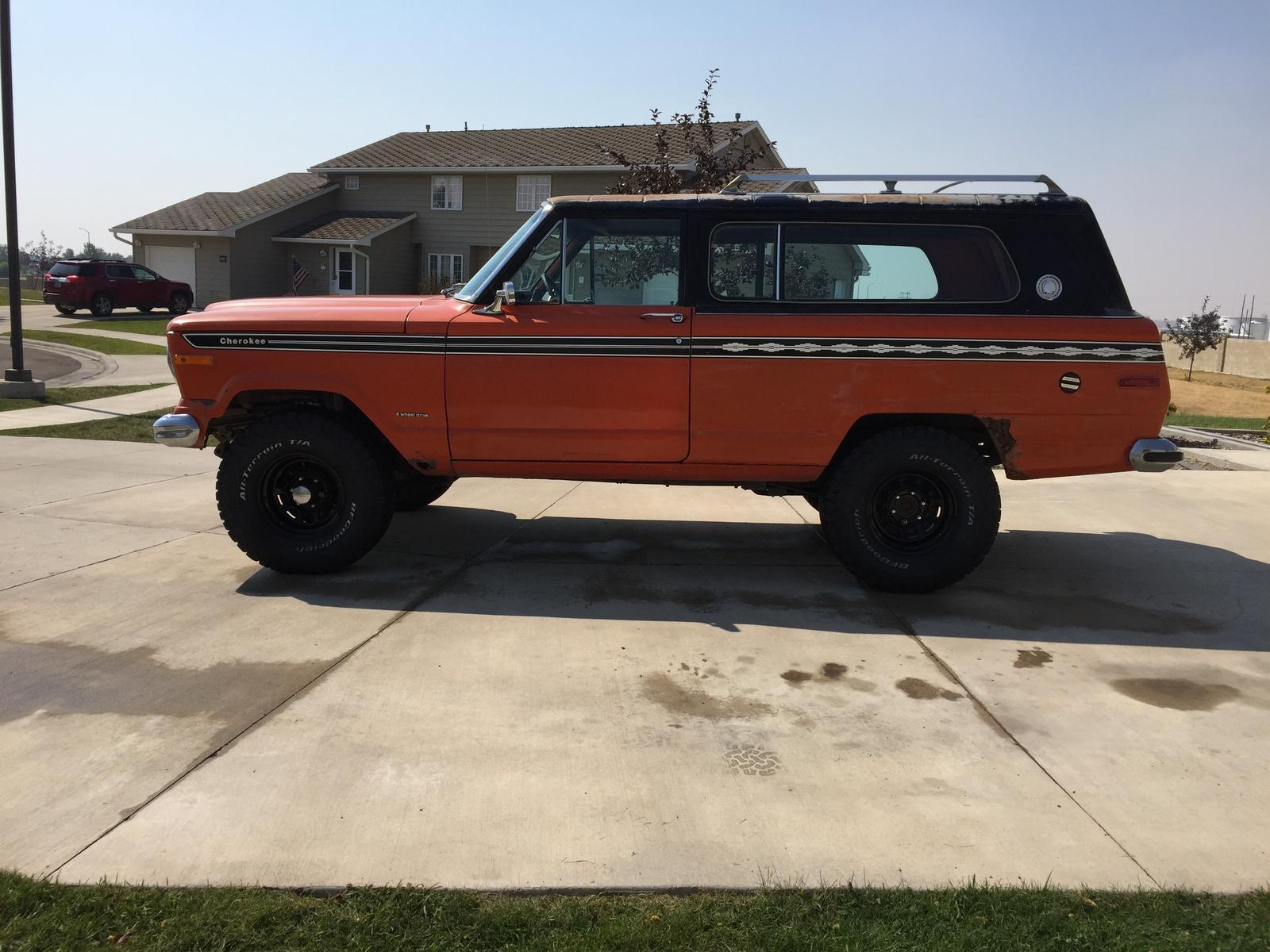 Jeep cherokee 1978